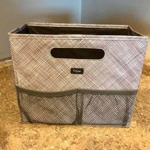 Thirty one Fold N File organizer Taupe Cross Pop